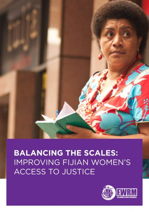 Balancing the Scales : Improving Fijian Women's Access to Justice
