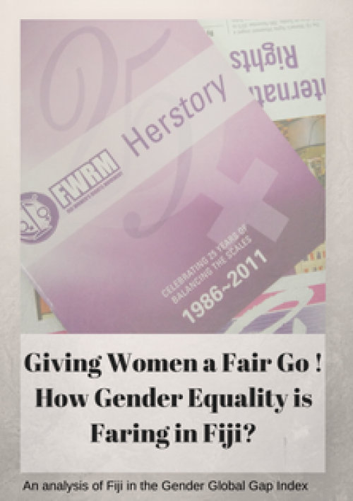 Giving Women A Fair Go: FWRM Analysis on the Global Gender Gap Index